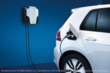VW e-Golf, Wallbox