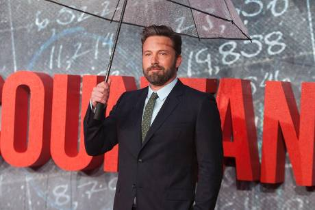 "Ben Affleck bei der Premiere von ""The Accountant"" in London"