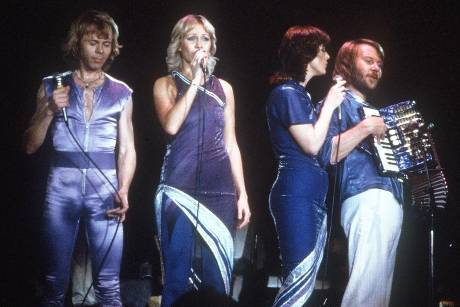"ABBA hatten Hits wie ""Dancing Queen"" und ""Waterloo"""