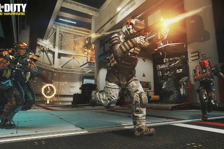 "In ""Call of Duty: Infinite Warfare"" gibt es wieder reichlich Action!"