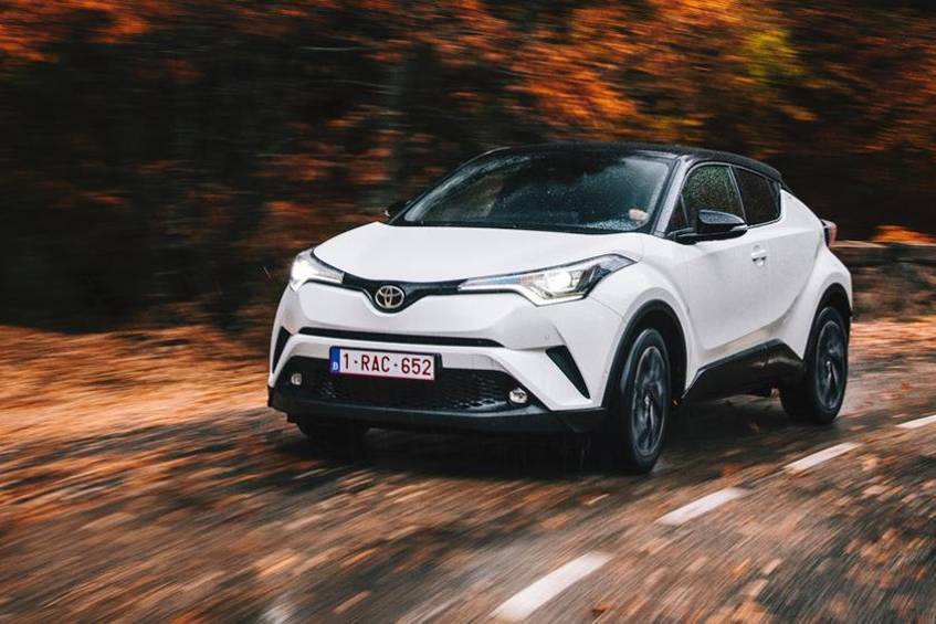 toyota c-hr  endlich emotional