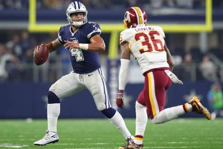 Dallas Cowboys setzen Siegeszug an Thanksgiving fort