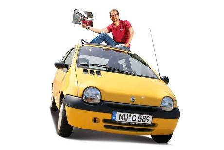 Renault Twingo, Frontansicht
