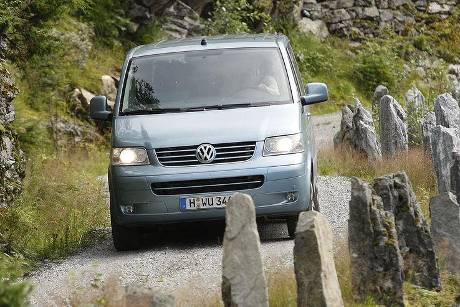 Norwegen im VW Multivan