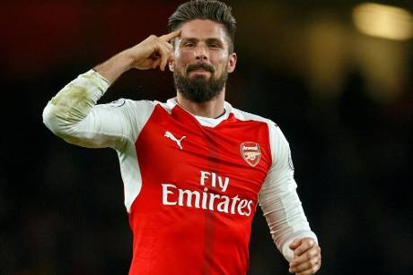 Giroud rettet Arsenal einen Punkt in Bournemouth