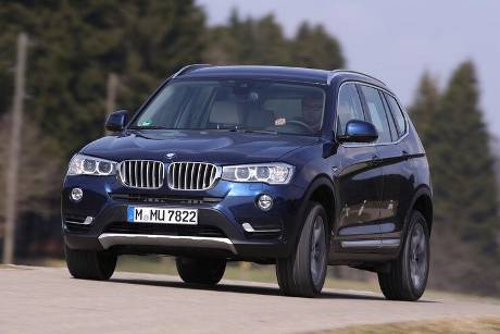 BMW X3 xDrive 35d, Frontansicht