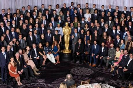 "Das ""Oscar Nominees Luncheon"" am Montag in L.A."