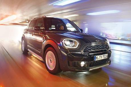 Mini Countryman Cooper S All4, Frontansicht