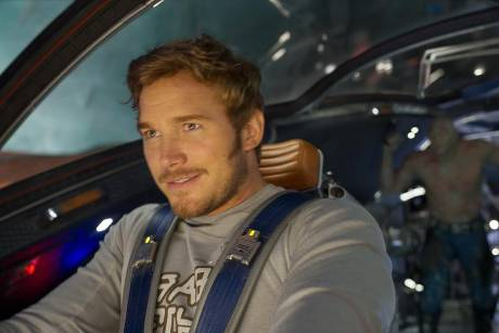 "Chris Pratt als Peter Quill bzw. Star-Lord in ""Guardians of the Galaxy Vol. 2"""