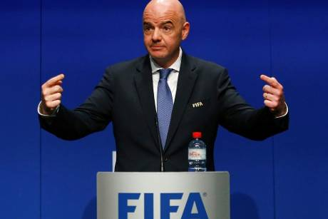 FIFA-Chef Infantino trifft Chinas Präsidenten Xi