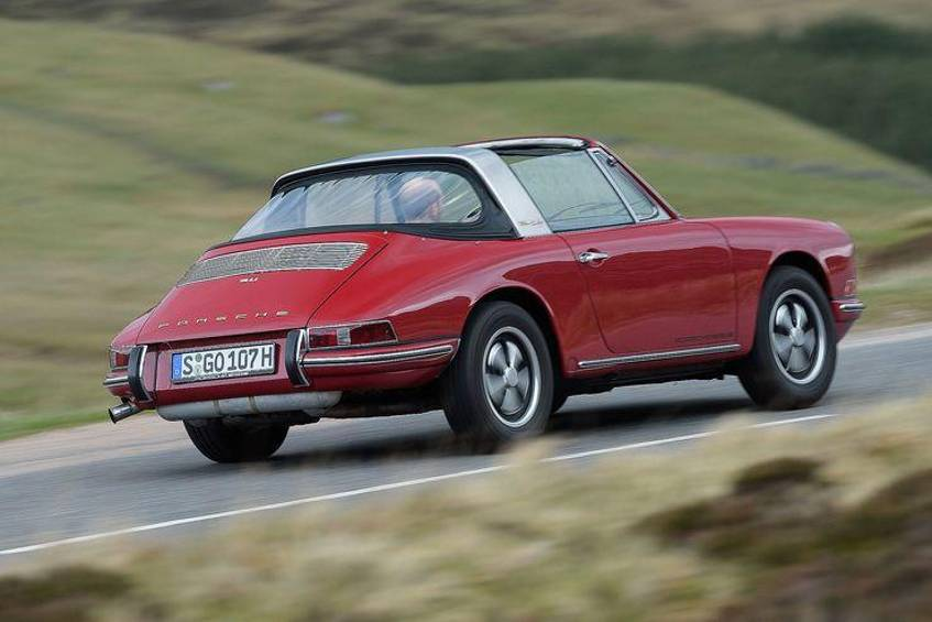 Porsche 911 2.0 Targa F-Modell Soft-Window