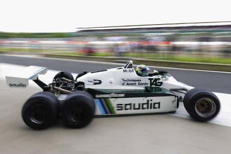 Felipe Massa - Williams FW08B - Williams-Jubiläum - Silverstone - 2017