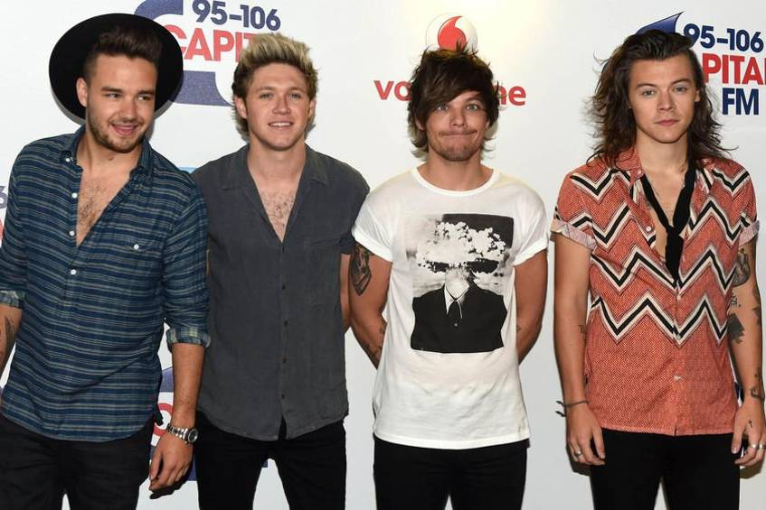 One Direction beim Summertime Ball 2015