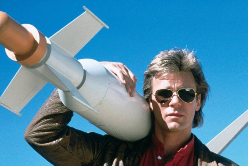 Richard Dean Anderson in seiner Kultrolle als MacGyver © Paramount Home Entertainment