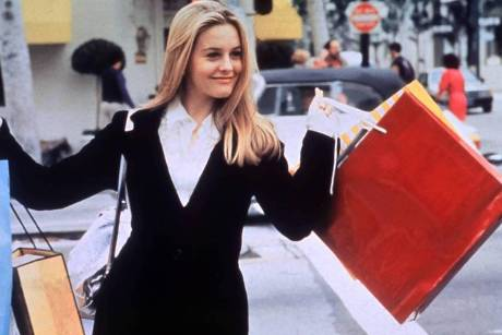 "Alicia Silverstone alias Cher Horowitz in ""Clueless - Was sonst!"""
