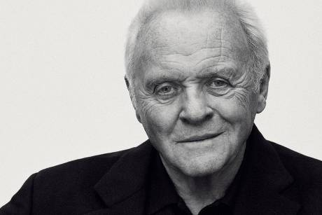 Sir Anthony Hopkins in seiner Kampagne für Brioni