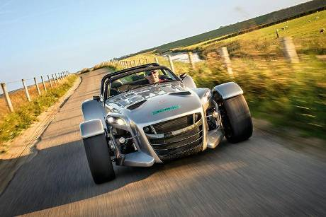 Donkervoort D8 GTO, Frontansicht