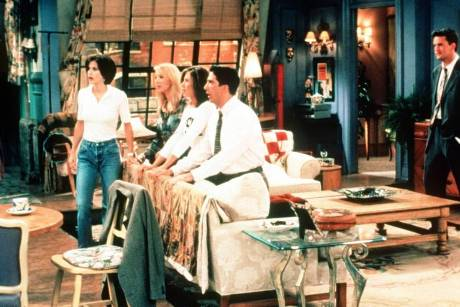 "Lange ist's her: Der ""Friends""-Cast 1994 am Set der Kultserie"