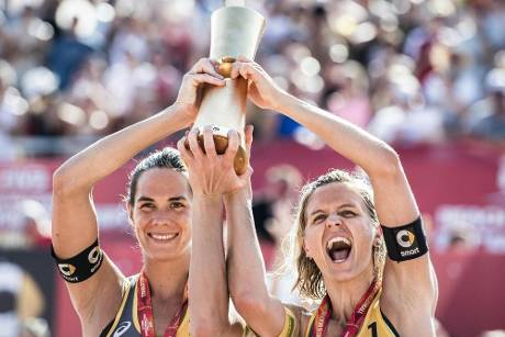 Beachvolleyball: Ludwig/Walkenhorst bei World Tour Finals in Hamburg