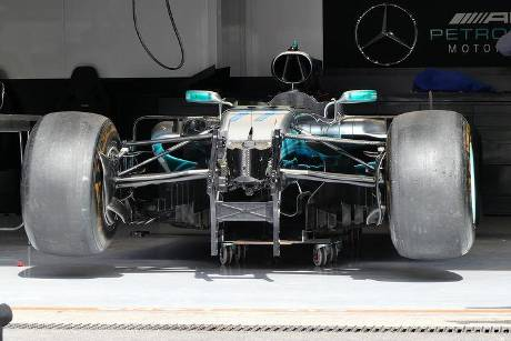 Mercedes - GP Belgien - Spa-Francorchamps - Formel 1 - 23. August 2017
