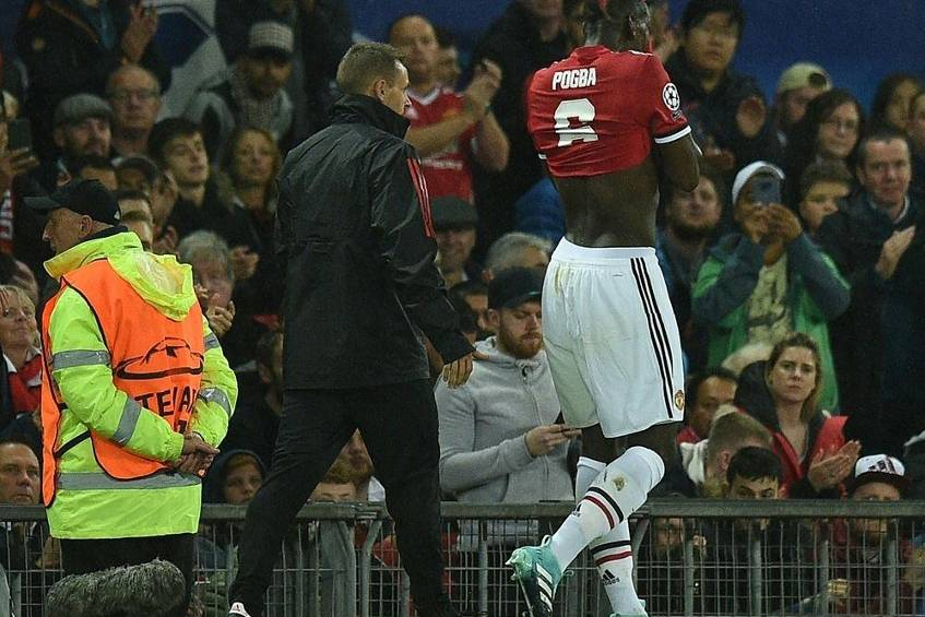 Manchester United wohl wochenlang ohne Pogba