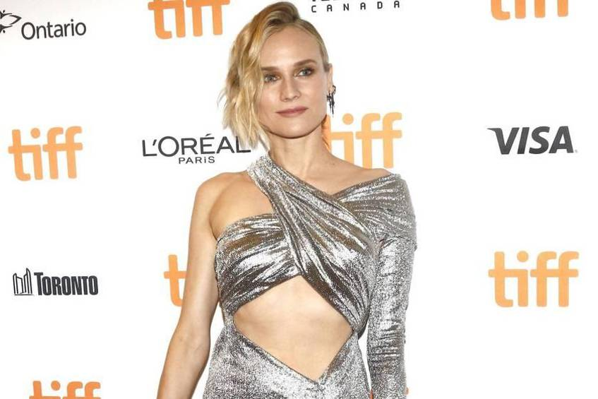 Wow: Diane Krugers Outfit beim Filmfestival in Toronto