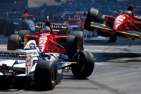 Alesi vs. Berger - GP Monaco 1995