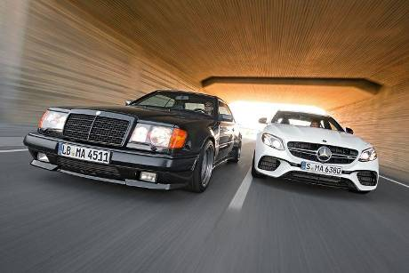 Mercedes-AMG E 63 S 4Matic+, Mercedes 300 CE 6.0-32V AMG, Front