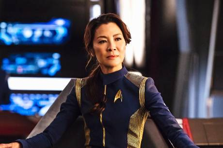 "Michelle Yeoh als Captain Georgiou in ""Star Trek: Discovery"""