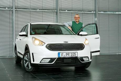 Kia Niro Hybrid, Lesertestdrive, Kia goes Electric