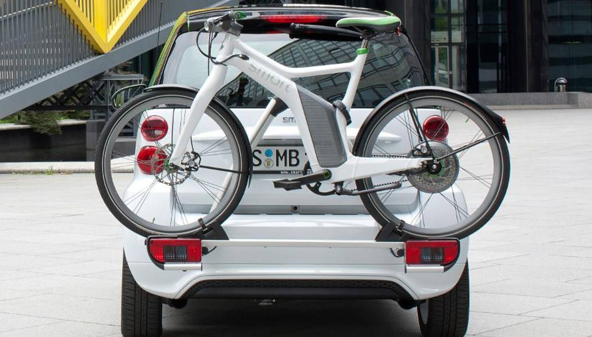 Voll unter strom: Smart Electric Drive mit Smart E-Bike.