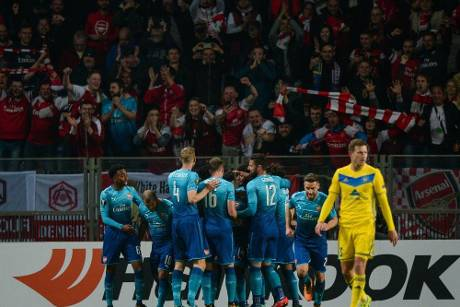 Europa League: Arsenal und Braga marschieren, Bilbao vergibt Punkte