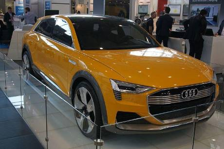 Audi h-tron quattro concept - Electric Vehicle Symposium 2017 - Stuttgart - Messe - EVS30