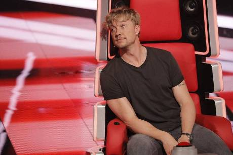 "Hochkonzentriert: ""The Voice""-Coach Samu Haber bei den Blind Auditions"