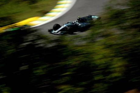 Valtteri Bottas - Mercedes - Formel 1 - GP Brasilien - 10. November 2017