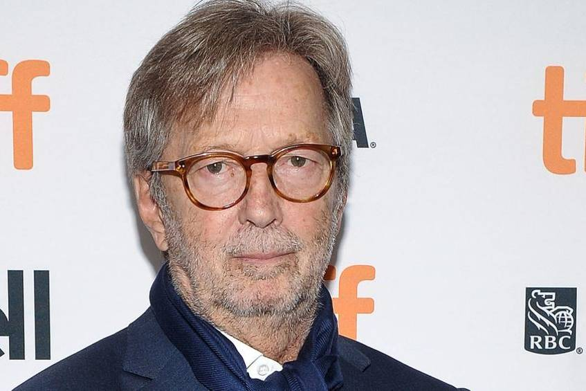 Eric Clapton 2017 beim Toronto International Film Festival