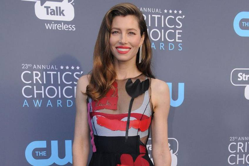 Jessica Biel bei den Critics' Choice Awards 2018