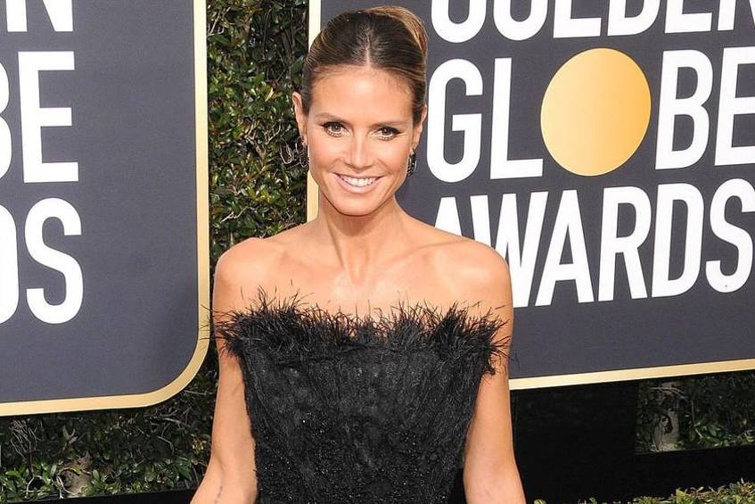 "Heidi Klum bei den ""Golden Globe Awards 2018"""