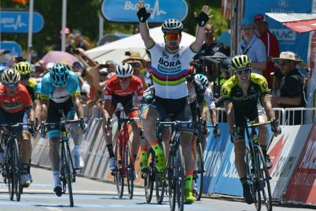 Tour Down Under: Weltmeister Sagan nach Etappensieg in Führung