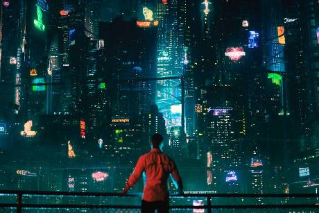 "Joel Kinnaman in ""Altered Carbon - Das Unsterblichkeitsprogramm"""