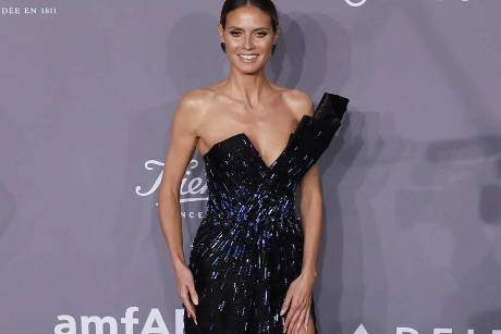 Heidi Klum bei der amfAR-Gala in New York
