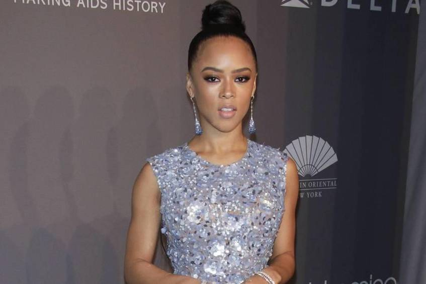 Serayah McNeill bei einer Gala in New York