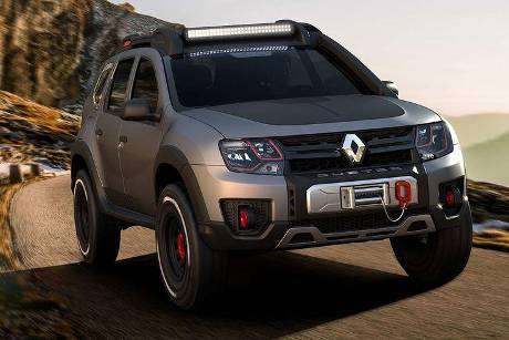 Renault Duster Extreme Sao Paulo Auto Show 2016
