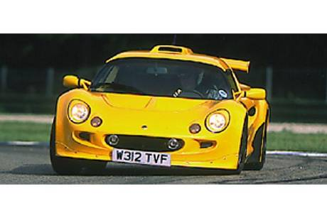 Lotus Exige im Supertest
