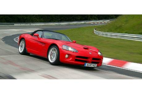 Dodge Viper SRT-10 im Supertest