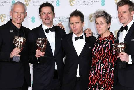 """Three Billboards Outside Ebbing, Missouri"" räumte bei den BAFTAs ab"