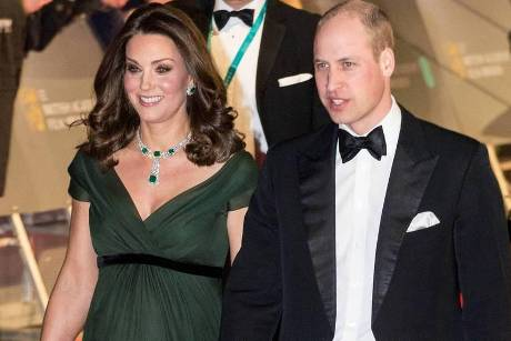 Kate und Prinz William bei den BAFTAs
