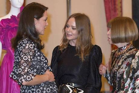 Herzogin Kate feiert Mode-Event im Buckingham Palace