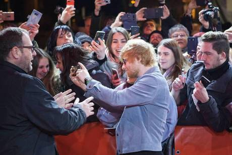 Ed Sheeran in Berlin