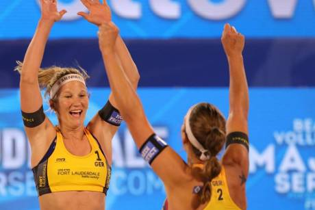 Beachvolleyball: Bieneck/Schneider Vierte in Fort Lauderdale